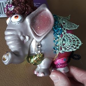 Other - NEW Elephant Christmas Ornament